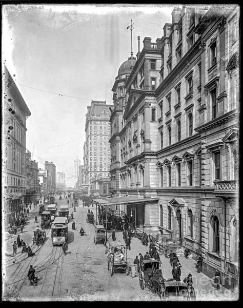 Photograph - 42nd Street by Russell Brown