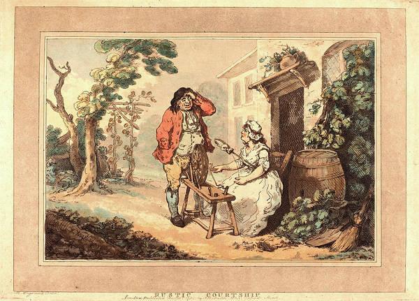 Wall Art - Drawing - Thomas Rowlandson British, 1756 - 1827 by Litz Collection