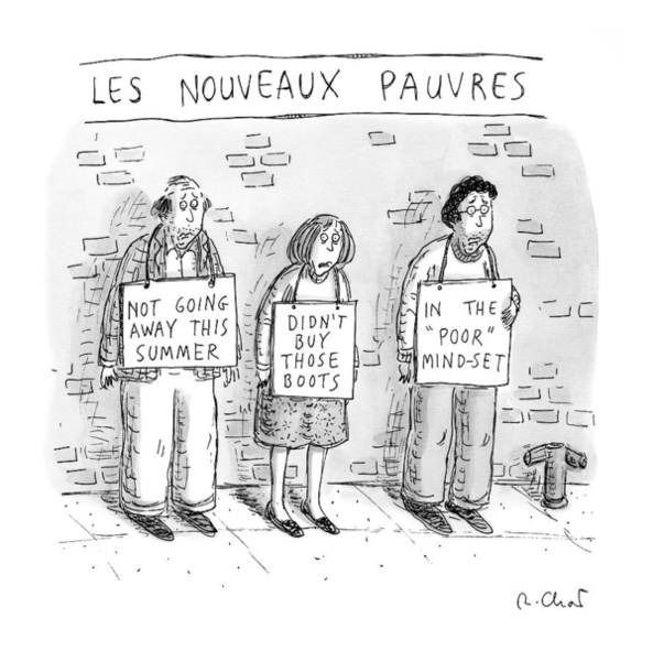 Poor Drawing - New Yorker May 25th, 2009 by Roz Chast