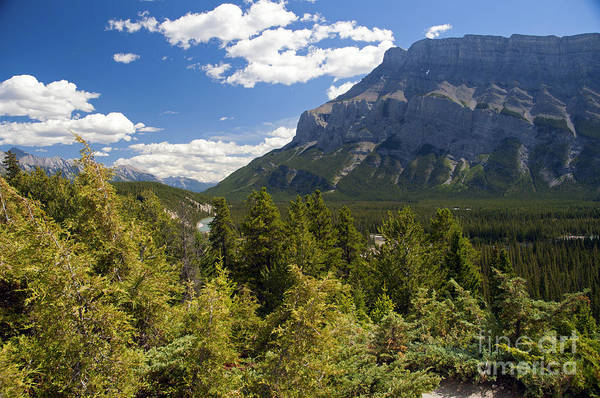 Photograph - 431p Mt. Rundle Canada by NightVisions