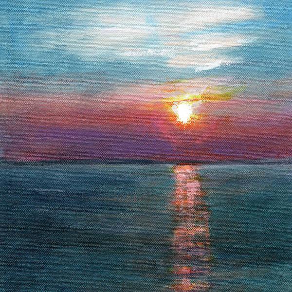 Bay Shore Painting - Rcnpaintings.com by Chris N Rohrbach