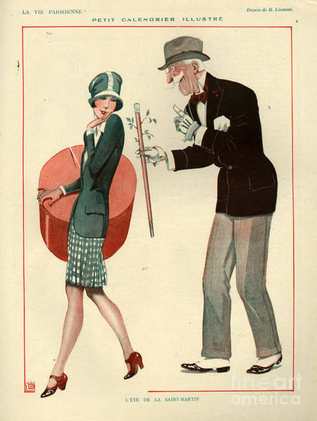 Dirty Drawing - 1920s France La Vie Parisienne Magazine by The Advertising Archives
