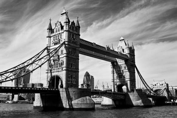 Square Mile Wall Art - Photograph - Tower Bridge London by David Pyatt