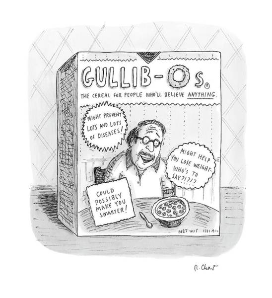 August 27th Drawing - New Yorker August 27th, 2007 by Roz Chast