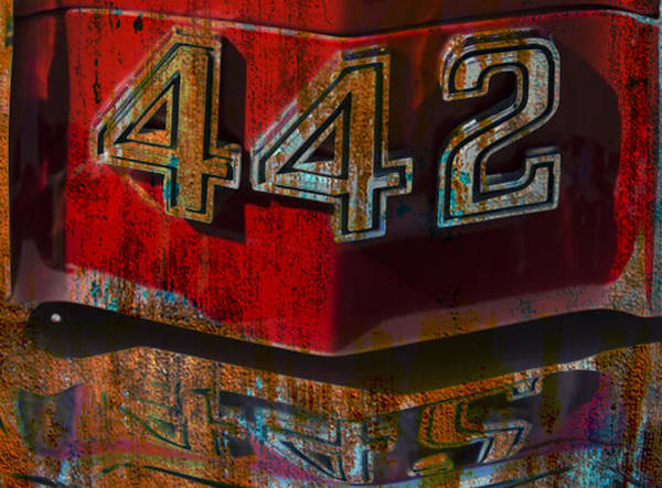 Oldsmobile 442 Wall Art - Digital Art - 442  by Greg Sharpe