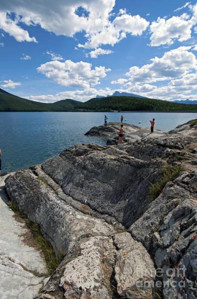 Photograph - 445p Lake Minnewanka Canada by NightVisions