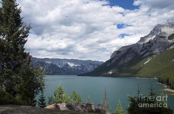 Photograph - 447p Lake Minnewanka Canada by NightVisions