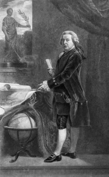 Wall Art - Painting - John Adams (1735-1826) by Granger