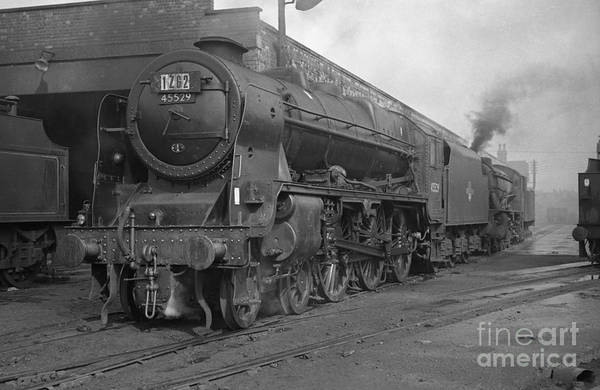 Photograph - 45529 Stephenson At Aintree Shed by David Birchall