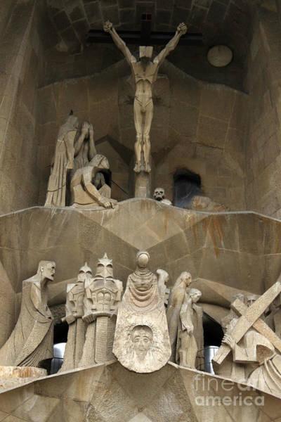 Photograph - Barcelona Spain - La Sagrada Familia by Gregory Dyer