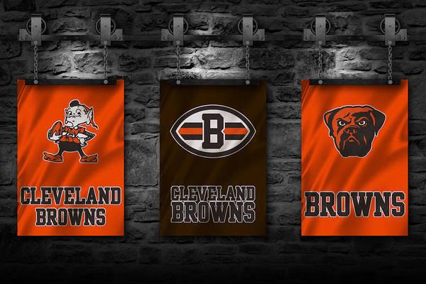 Ohio Stadium Wall Art - Photograph - Cleveland Browns by Joe Hamilton