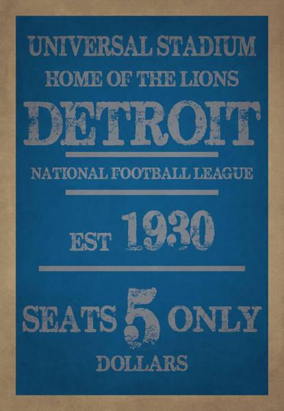 Detroit Lions Photograph - Detroit Lions by Joe Hamilton