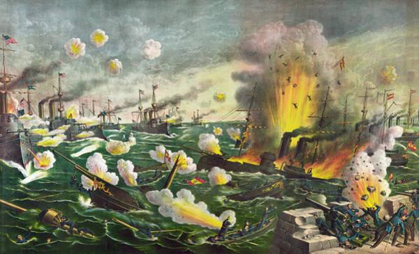 Wall Art - Painting - Spanish-american War, 1898 by Granger