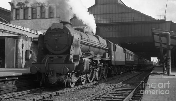 Photograph - 46155 The Lancer At Preston by David Birchall