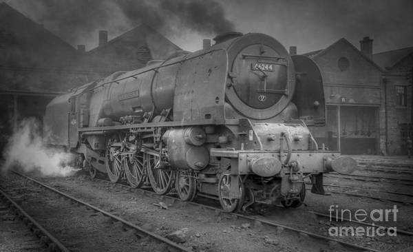 Photograph - 46244 King George Vi At Carlisle by David Birchall