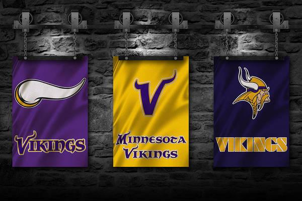 Wall Art - Photograph - Minnesota Vikings by Joe Hamilton