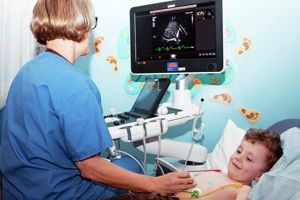 Technician Photograph - Paediatric Cardiology Ward by Life In View