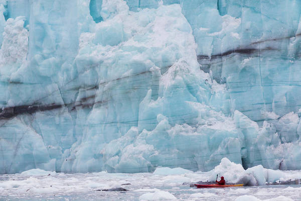 Paddle Boats Photograph - Usa, Alaska, Glacier Bay National Park by Jaynes Gallery