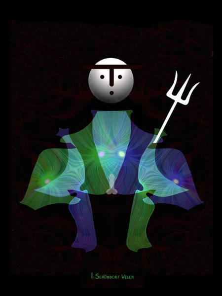 Fork Digital Art - 480 - The Hero by Irmgard Schoendorf Welch