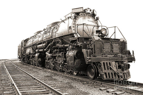 Steam Engine Photograph - 4884 Big Boy by Olivier Le Queinec