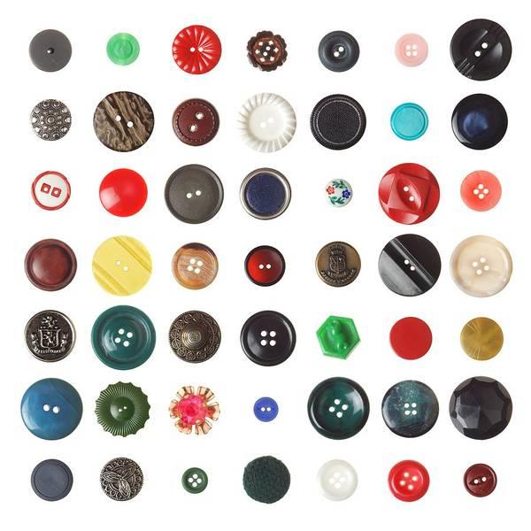 Wall Art - Photograph - 49 Buttons by Jim Hughes
