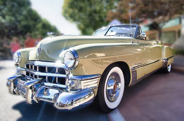 Photograph - 49 Cadillac Convertible by Robert Rus