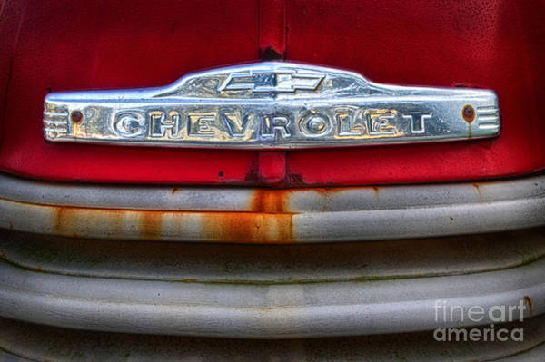 Wall Art - Photograph - 49 Chevy Grill by Jerry Fornarotto