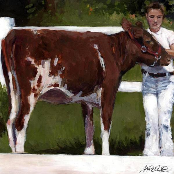 County Fair Painting - 4H by Molly Poole