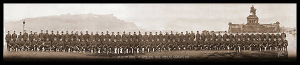 Platoon Wall Art - Photograph - 4th Co. 3rd Corps. 1st Artillery Park by Fred Schutz Collection