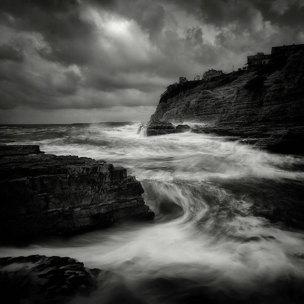 Coast Photograph - ! by Yucel Basoglu