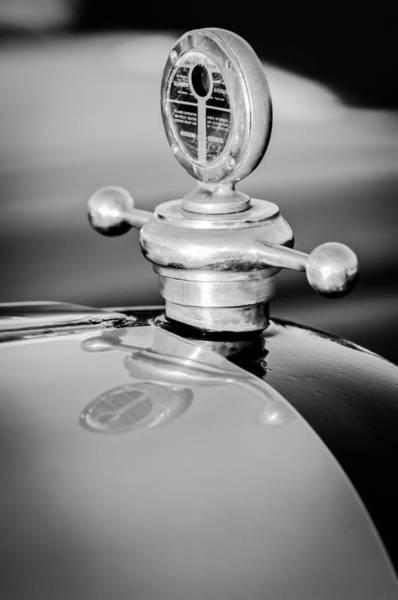 Photograph - 1922 Studebaker Touring Hood Ornament by Jill Reger
