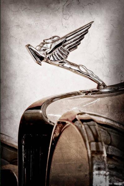 Cord Photograph - 1931 Cord L-29 Legrande Speedster Hood Ornament by Jill Reger