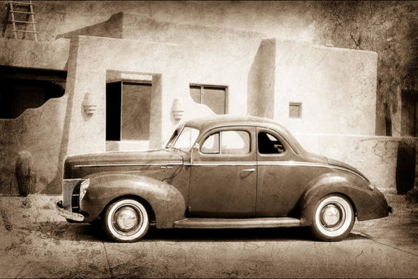 1940 Ford Coupe Photograph - 1940 Ford Deluxe Coupe by Jill Reger