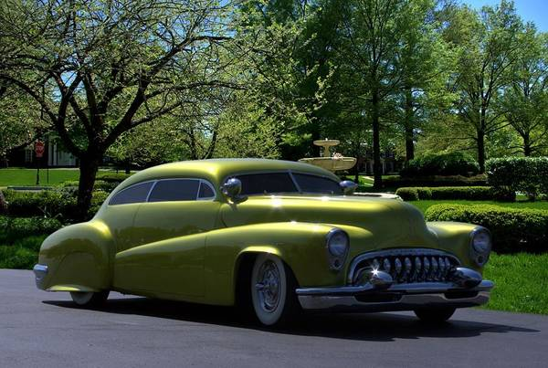 Photograph - 1951 Buick Custom Low Rider by Tim McCullough