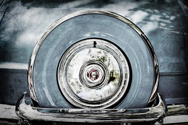1956 Ford Thunderbird Photograph - 1956 Ford Thunderbird Spare Tire by Jill Reger