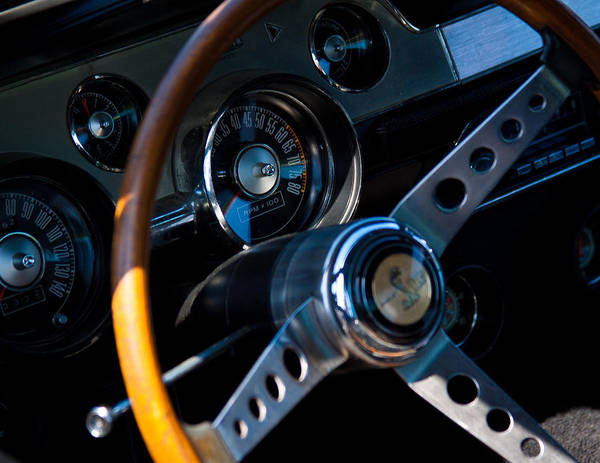 Street Rods Photograph - 1967 Ford Mustang Shelby Gt500 by David Patterson