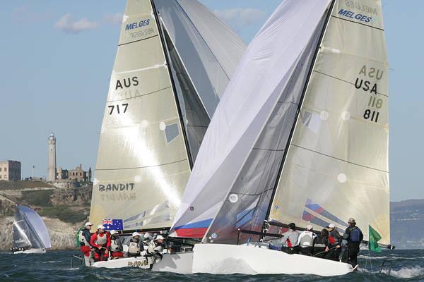 Photograph - Action Sailing by Steven Lapkin