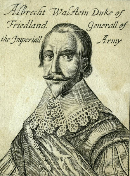 Wall Art - Drawing - Albrecht Von Wallenstein (1583 - 1634) by Mary Evans Picture Library