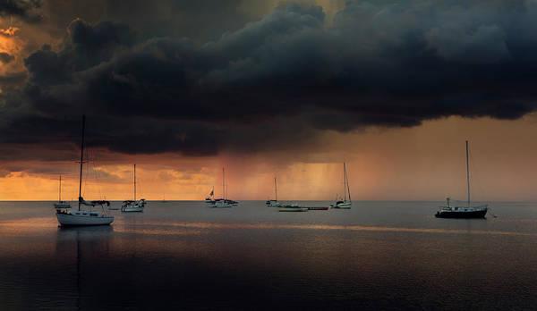 Sailboat Sunset Wall Art - Photograph - 5 by Alexandr Popovsky