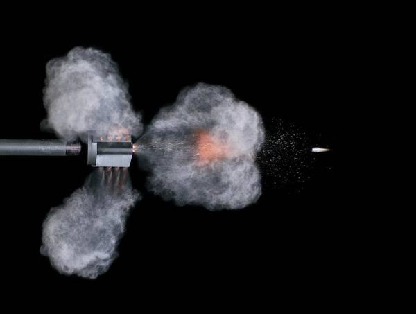 Firepower Photograph - Ar-15 Rifle Shot by Herra Kuulapaa � Precires