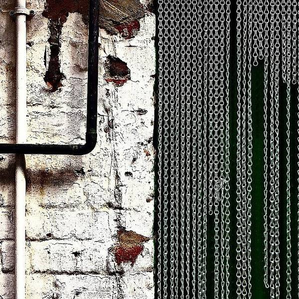 Pattern Photograph - Chain Door by Jason Michael Roust