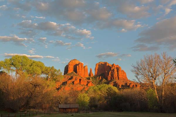 Wall Art - Photograph - Arizona, Sedona, Crescent Moon by Jamie and Judy Wild
