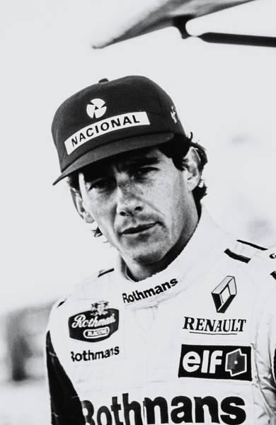 Ayrton Senna Wall Art - Photograph - Ayrton Senna by Jose Bispo