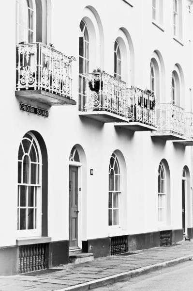 Housing Development Photograph - Balconies by Tom Gowanlock