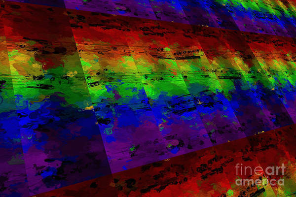 Digital Art - 5-bar Multi-timbral Pastiche by Lon Chaffin