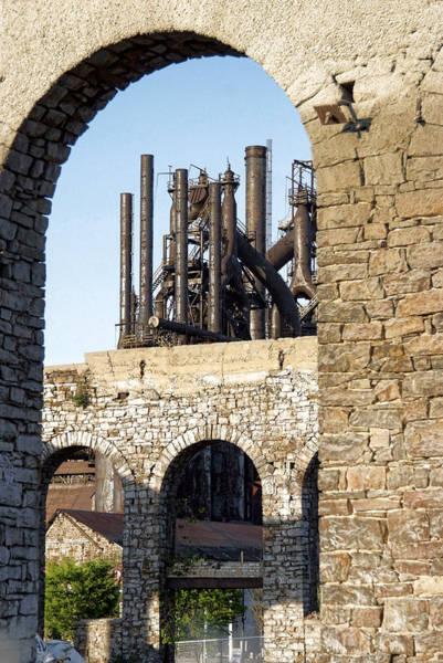 Bethlehem Wall Art - Photograph - Bethlehem Steel by Michael Dorn