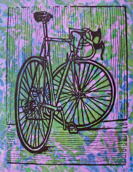 Drawing - Bike 4  by William Cauthern