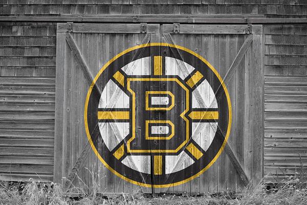 Hockey Sticks Wall Art - Photograph - Boston Bruins by Joe Hamilton