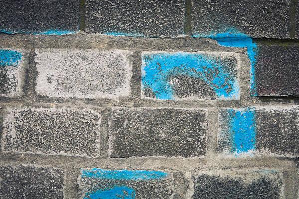 Old Wall Art - Photograph - Brick Wall by Tom Gowanlock
