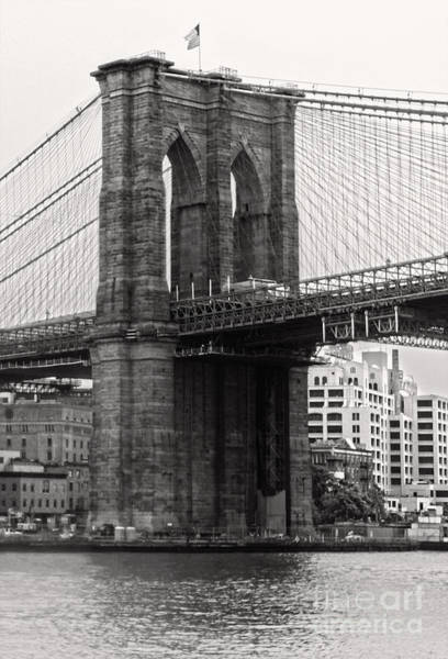 Photograph - Brooklyn Bridge by Gregory Dyer
